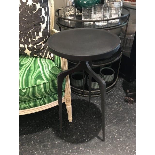 Cast Iron Side Table For Sale In Chicago - Image 6 of 8