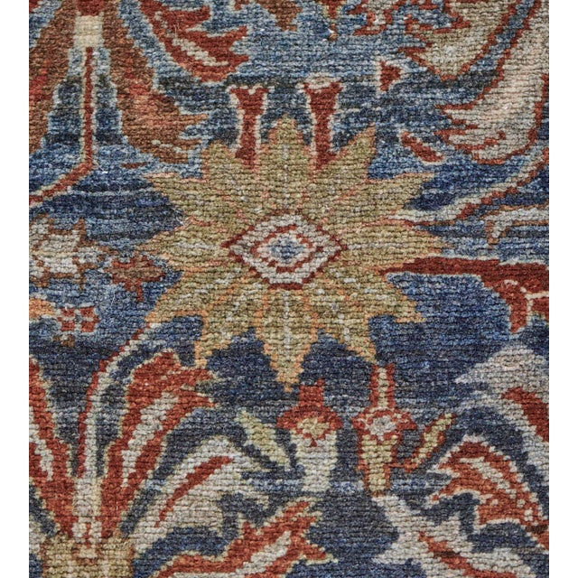 Late 19th Century Late 19th Century Handwoven Malayer Wool Rug For Sale - Image 5 of 10