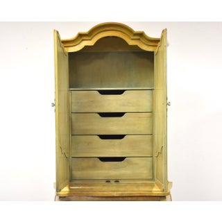 Mastercraft Burl Armoire Dresser Preview