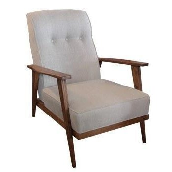 Not Yet Made - Made To Order Hollister Armchair For Sale - Image 5 of 6