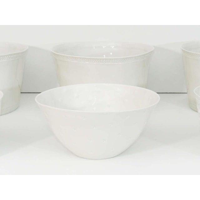 Limoges, France Collection of Handmade Limoges Porcelain - Set of 6 For Sale - Image 4 of 9