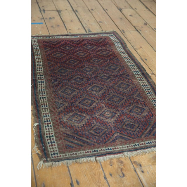 """Antique Belouch Rug - 2'5"""" X 3'9"""" For Sale - Image 9 of 11"""