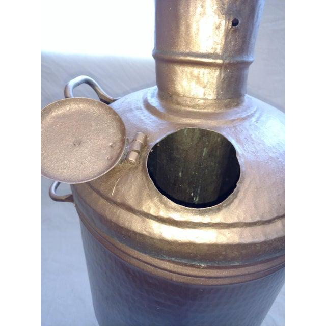 1900s Antique Turkish Water Dispenser Samovar For Sale - Image 5 of 8