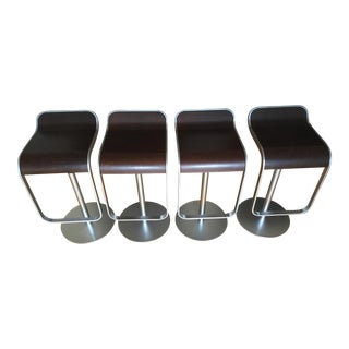 Lem Piston Stools From DWR - Set of 4 For Sale
