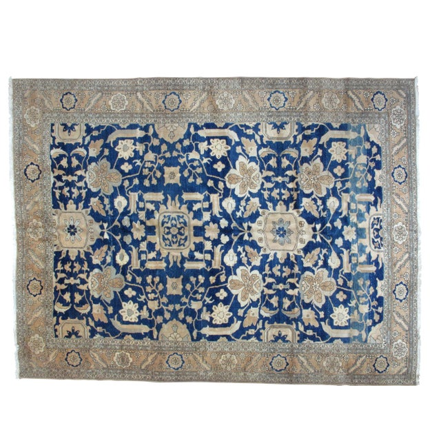 Leon Banilivi Blue Bakhshaish Carpet - 9′10″ × 12′10″ - Image 1 of 4