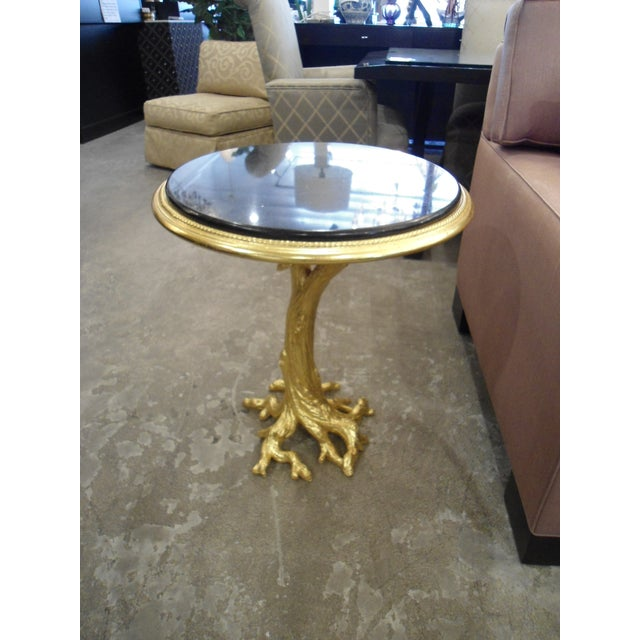 Gold Leaf Root Side Table - Image 3 of 10