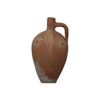 Greek Antique Stamna Pottery Vase