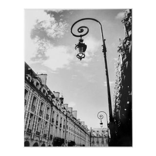 """Le Lampadaire"" Black & White Paris Photograph For Sale"