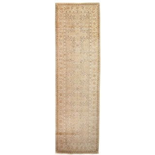 """Hand Knotted Runner - 3'3"""" X 10'7"""" For Sale"""