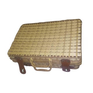 Small Wicker Luggage For Sale