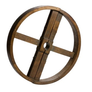 Wooden Industrial Wheel For Sale