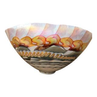 Murano Art Glass Bowl For Sale