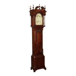 Sligh John Goddard Newport Chippendale Style Grandfather Clock For Sale
