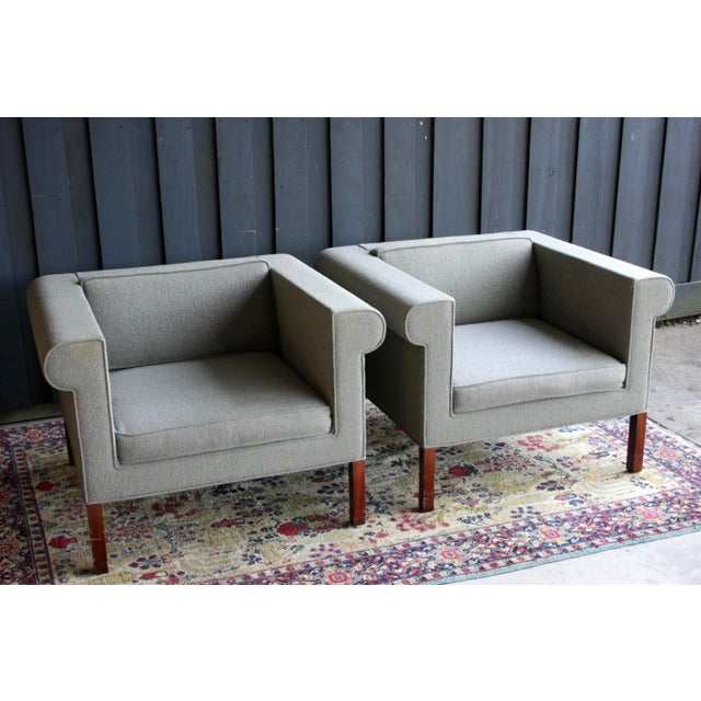 Charles McMurray Postmodern Lounge Chairs, a Pair For Sale In Dallas - Image 6 of 11