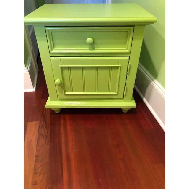 Stanley Michaels Lime Green Table