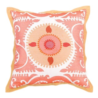 Missa Embroidered Pillow