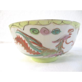 Chinese Hand-Painted Dragon Fingertip Bowl Preview