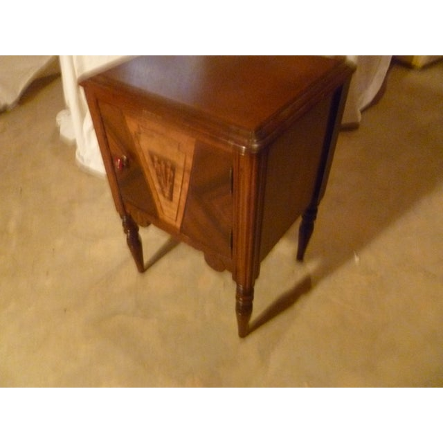 19th Century Italian Side Table With Storage Nightstand For Sale - Image 4 of 8