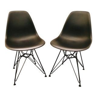 1950s Vintage Herman Miller Eames Eiffel Chair- a Pair For Sale
