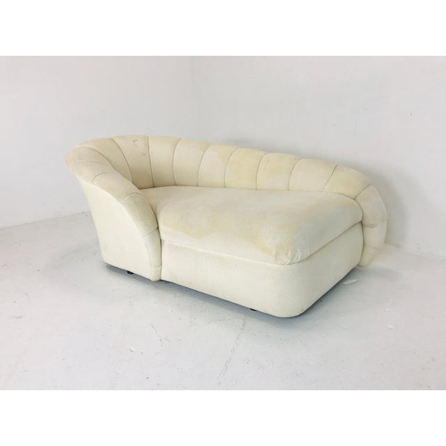 MCM channel chaise by Directional.