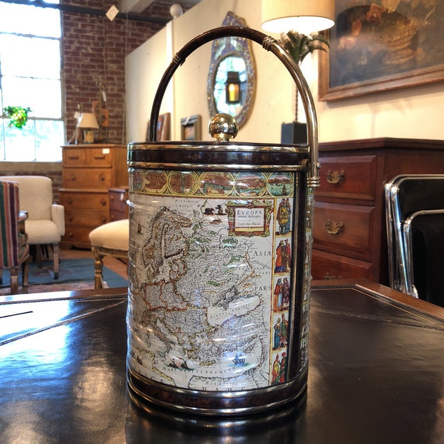 Mid-Century Map Ice Bucket - Image 3 of 11