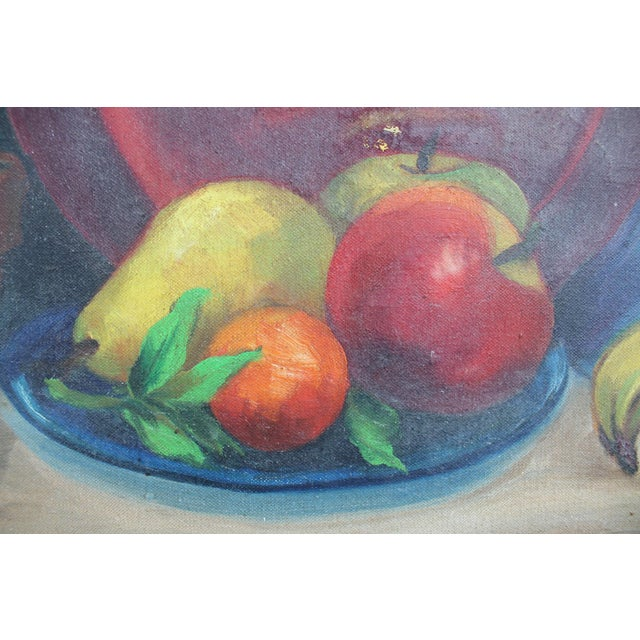 N. Jacobs Still Life Oil Painting For Sale - Image 9 of 11