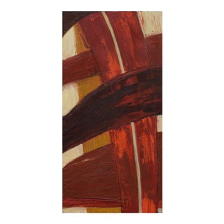 """Laurie MacMillan """"Freeway"""" Abstract Painting For Sale"""