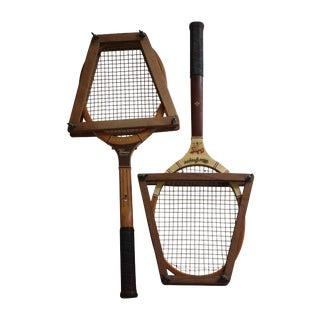 Vintage Tennis Rackets - a Pair