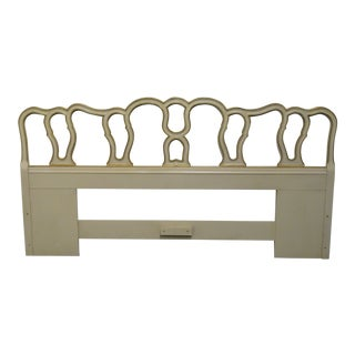Late 20th Century Drexel Touraine Collection King Size Headboard For Sale