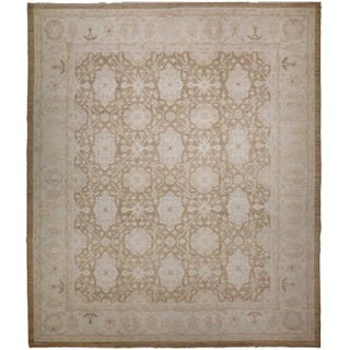 Agra Design Hand-Knotted Luxury Rug - 8′1″ × 9′11″ For Sale