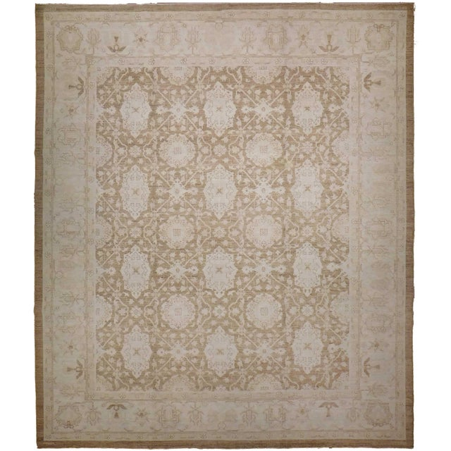 Agra Design Hand-Knotted Luxury Rug - 8′1″ × 9′11″ - Image 1 of 5