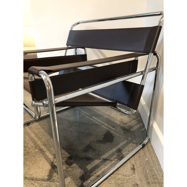 """Modern """"Wassily"""" Style Chair For Sale - Image 4 of 7"""