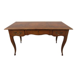 Baker Milling Road Louis XV Style Desk With Locking Drawer For Sale
