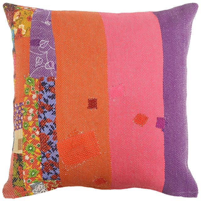 Boho Chic July Sandwich Pillow For Sale - Image 4 of 4