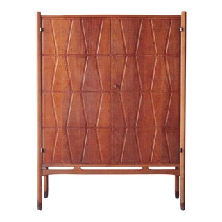 Bangkok Cabinet by Yngve Ekström 'Ekstrom' for Westbergs Mobler, 1950s, Sweden For Sale