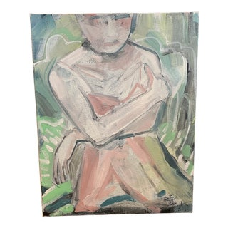 Figurative Painting by Pauline Curtiss For Sale