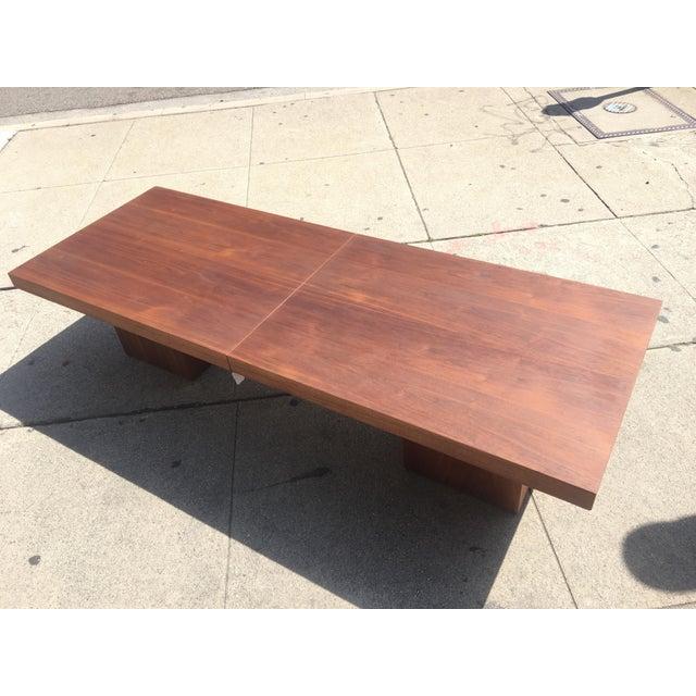 Brown and Saltman Expanding Coffee Table - Image 3 of 10