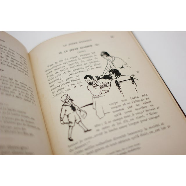 Antique Burgundy Books - A Pair - Image 9 of 9