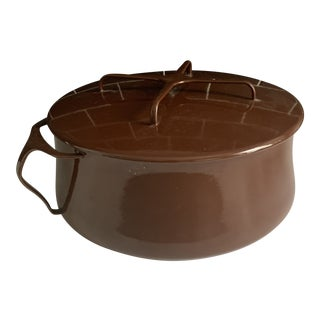 1950s Dansk Brown Stock Pot For Sale