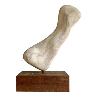 1960s Mid Century Modern Marble Organic Sculpture