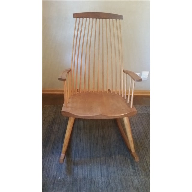 Hand crafted beautifully constructed rocking chair. As seen on This Old House. New Gloucester was home to our first...