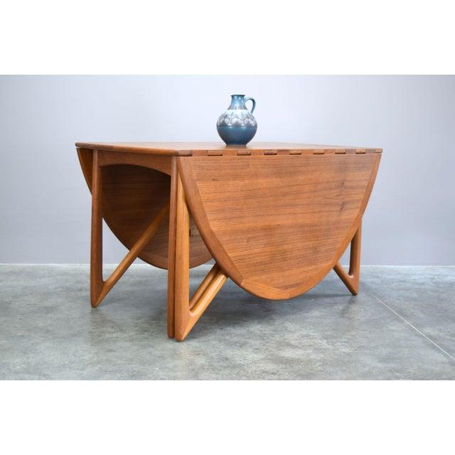 On Hold - Niels Koefoed / Kurt Østervig Danish Teak Dining Table - Image 5 of 11