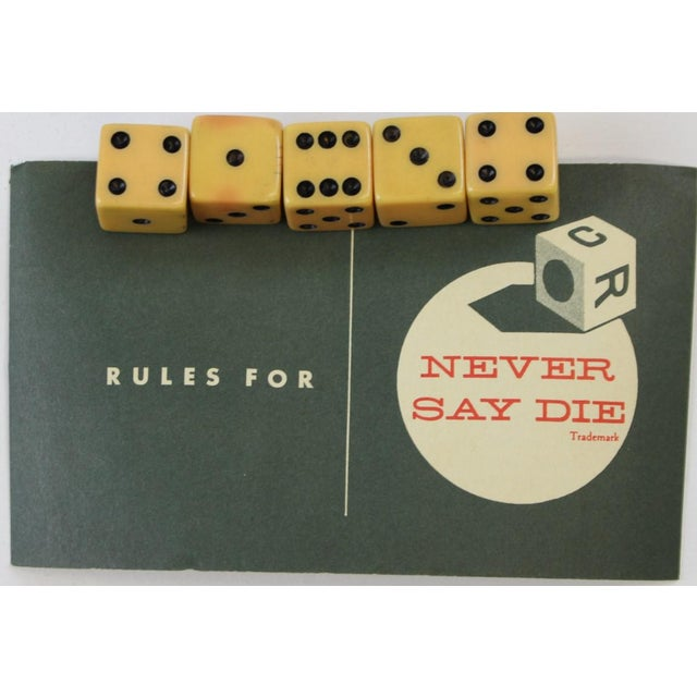 Abercrombie & Fitch Leather Dice Set - Image 9 of 9