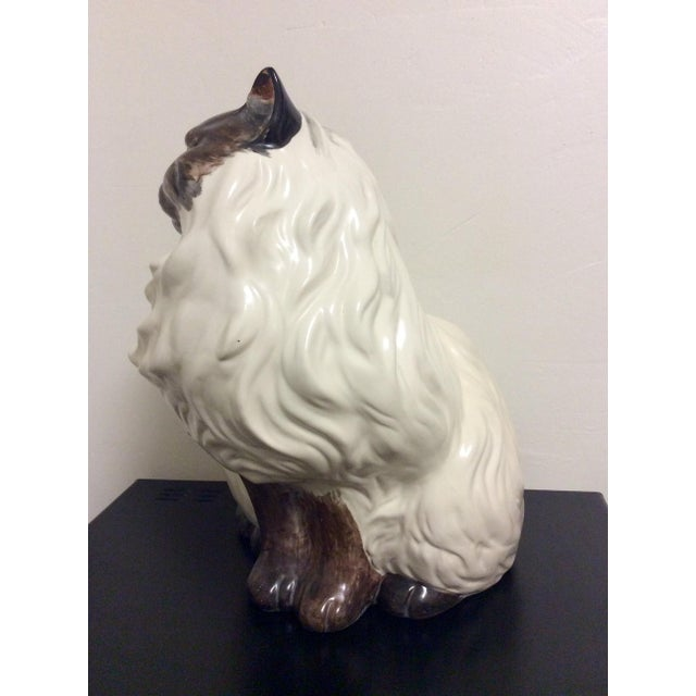 Antique Porcelain Cat - Image 6 of 9