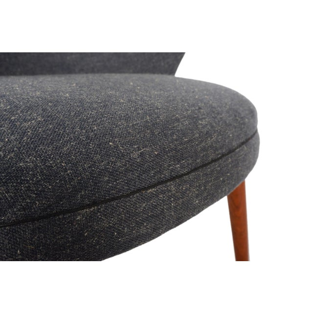 Bent Møller Jepsen Wool Lounge Chair - Image 4 of 8