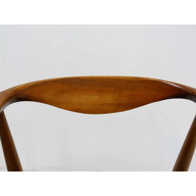 Danish Barrel Teak Armchairs - A Pair - Image 7 of 10