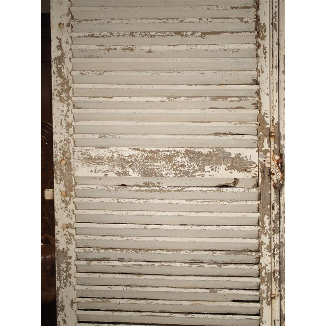 Pair of Large Antique French Door Shutters From a Chateau, 19th Century For Sale - Image 4 of 13