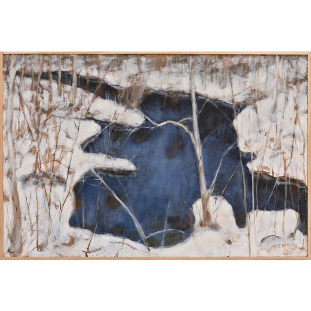 "Stephen Remick ""Destruction Brook at Ella's Bridge""Contemporary Painting For Sale"