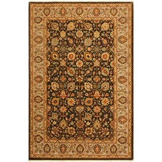 Shabby Chic Istanbul Claris Brown/Lt. Tan Turkish Hand-Knotted Rug -4'3 X 6'2 For Sale