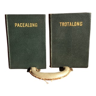 1928 Vintage Trotalong and Pacealong Books - a Pair For Sale